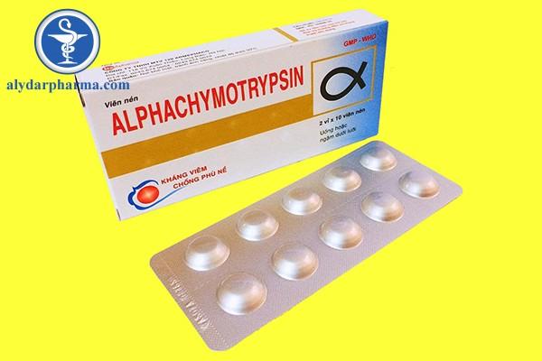Thuốc Alphatrymotrypsin