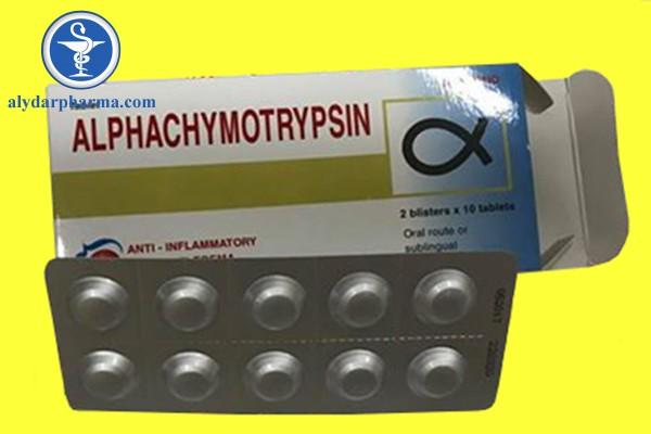 Thuốc Alphatrymotrypsin là thuốc gì