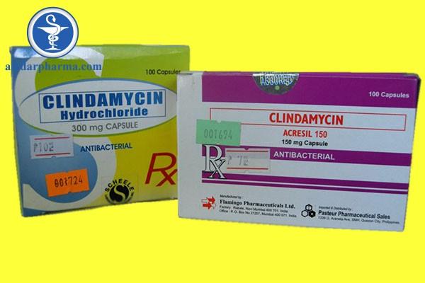 Clindamycin là thuốc kháng sinh thuộc nhóm Lincosamid.