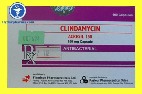 Tác dụng của thuốc Clindamycin