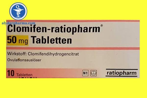 Liều lượng và cách dùng Clomifen