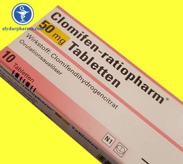 Thuốc Clomifen được chỉ định điều trị vô sinh do không rụng trứng.