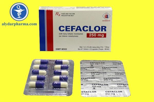 Thuốc Cefaclor