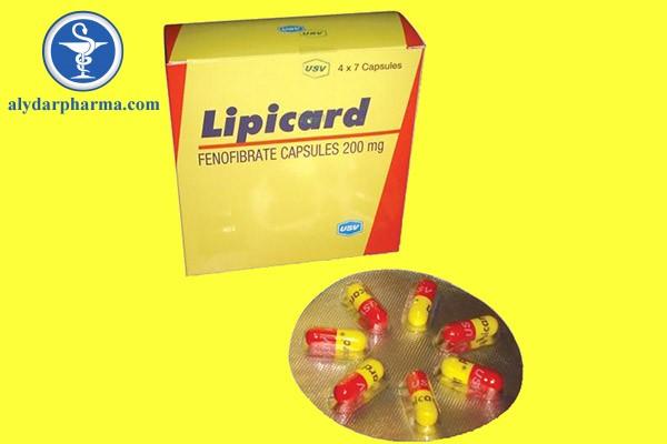 Thuốc Lipicard