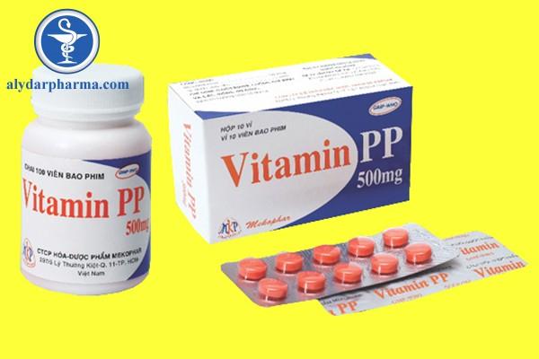 Tác dụng phụ của Vitamin PP
