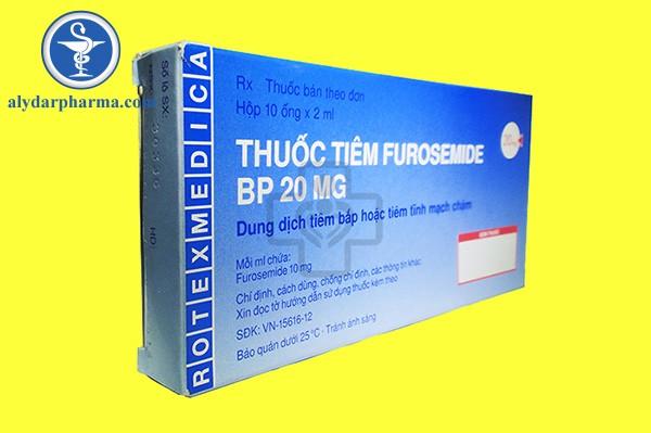 Cách sử dụng thuốc furosemide hiệu quả nhất