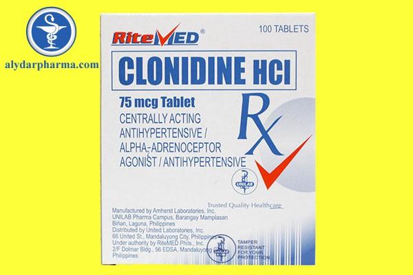 Liều lượng và cách dùng thuốc Clonidine