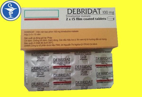 Debridat 100mg là thuốc gì?