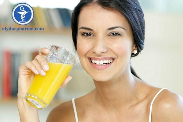 Nước cam có rất nhiều chất dinh dưỡng, bao gồm vitamin C, folate và kali.