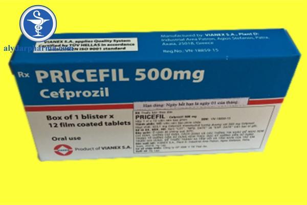 Thuốc Pricefil là thuốc gì