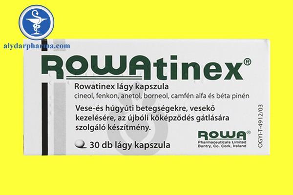 Cách sử dụng thuốc rowatinex