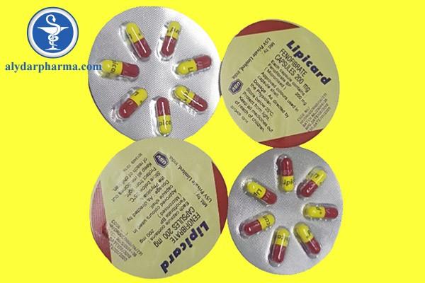 Những tác dụng phụ khi dùng thuốc Lipicard® điều trị bệnh