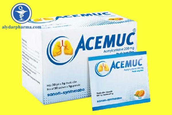 Acemuc là thuốc gì
