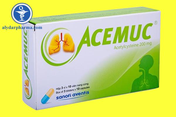 Cách dùng Acemuc như thế nào?