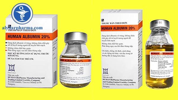Thông tin về thuốc albumin