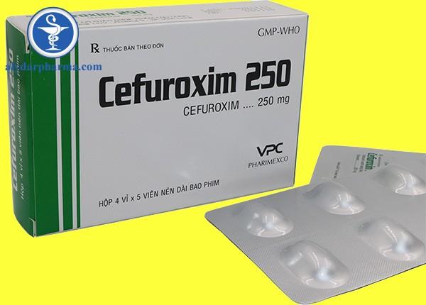 Tác dụng phụ của Cefuroxim stada 250mg