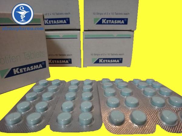 Thuốc Ketasma® có tác dụng như thế nào?