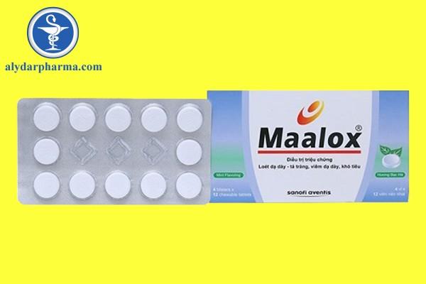 Cơ chế tác dụng của thuốc Maalox
