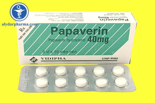 Papaverin 40mg là thuốc gì?