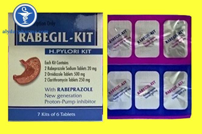 Rabegil kit được dùng để điều trị các vấn đề về đường tiêu hóa