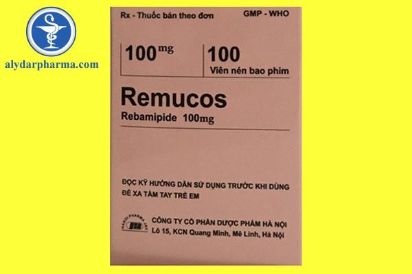 Tương tác thuốc của remucos