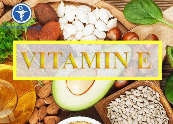 Bổ sung vitamin E