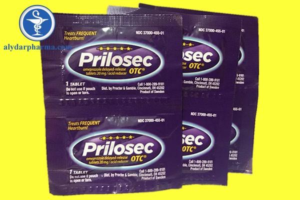 Prilosec có thể tương tác với một số loại thuốc và hoạt chất khác