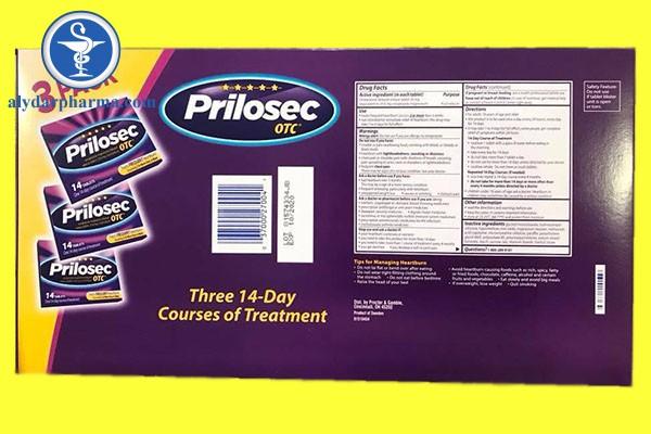 Những thông tin cần biết về thuốc Prilosec