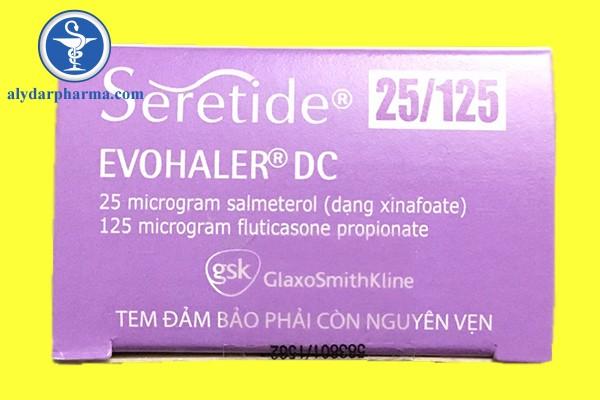 Tác dụng phụ không mong muốn của thuốc Seretide