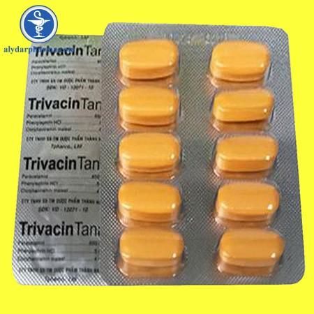 Thuốc TrivacinTina được sử dụng để điều trị giảm đau và hạ sốt