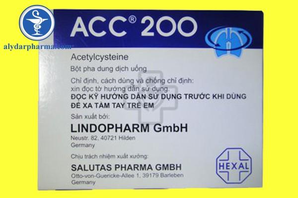 Liều dùng của thuốc Acc – 200