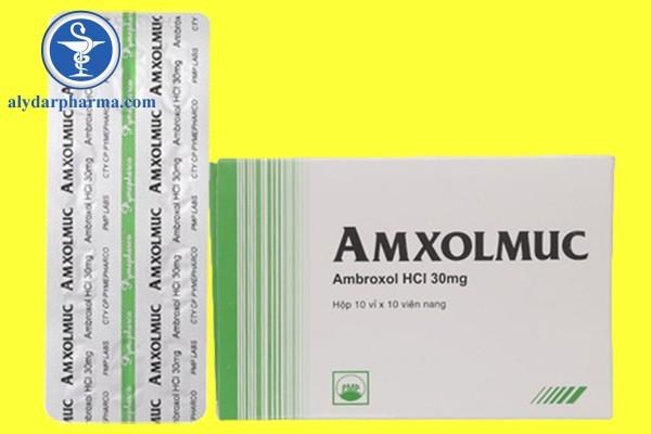 Thuốc Amxolmuc 30mg