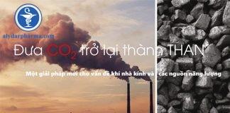Các nhà khoa học đã tìm ra một cách hiệu quả để biến CO2 thành than