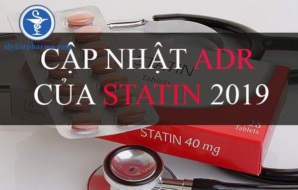 Cập nhật ADR của Statin 2019