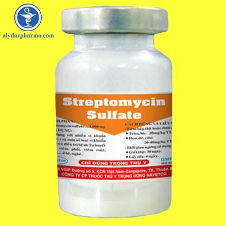 Chống chỉ định của thuốcStreptomycin