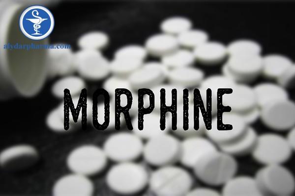 Chống chỉ định khi dùng thuốc morphine