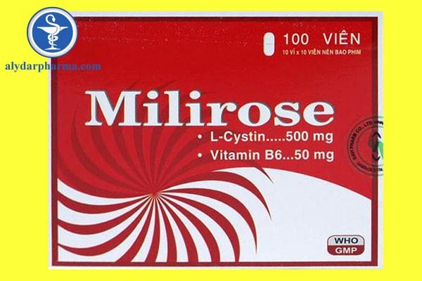 Milirose là thuốc gì? Có tác dụng gì?