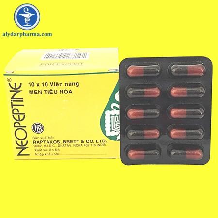 Tác dụng phụ không mong muốn của thuốc neopeptine