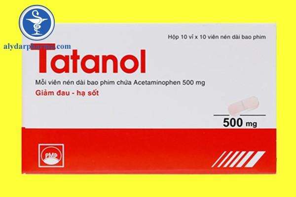Thuốc Tatanol 500mg