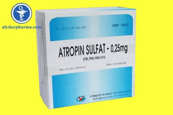 Sử dụng Atropine như thế nào đúng cách