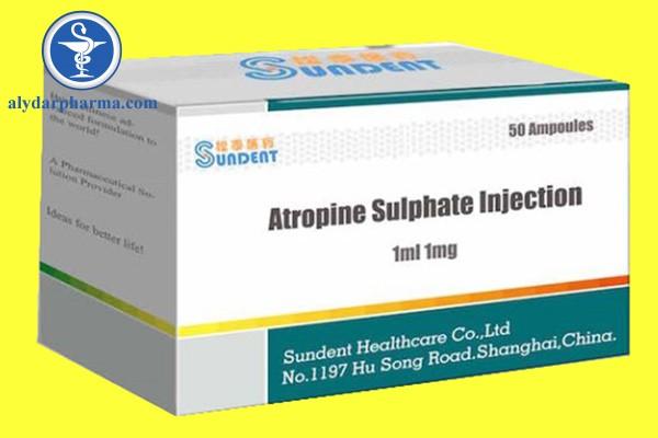 Tương tác thuốc khi sử dụng Atropine