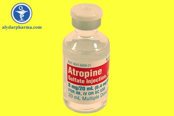 Thận trọng cảnh báo khi sử dụng Atropine