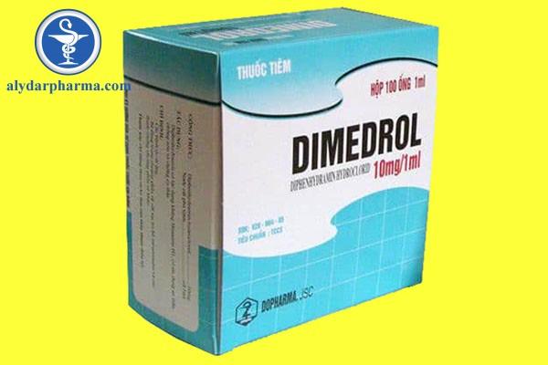 Thông tin về thuốc Dimedrol