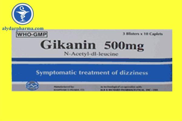 Thuốc Gikanin 500mg là thuốc gì