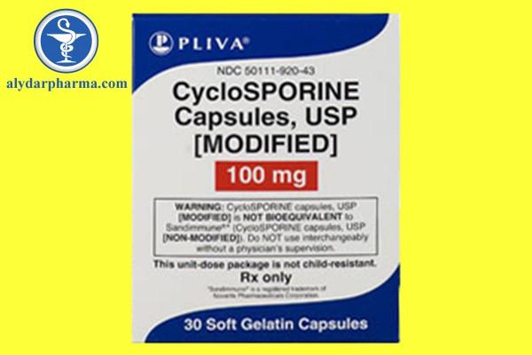 Không kết hợp Cyclosporine với thuốc ức chế miễn dịch khác trừ Corticosteroid.