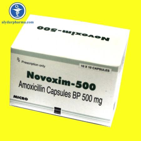 Tác dụng của thuốc Novoxim