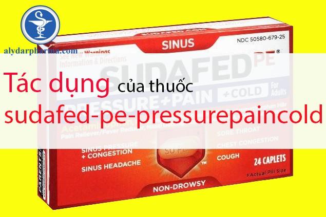 Thông tin về thuốc sudafed-pe-pressurepaincold