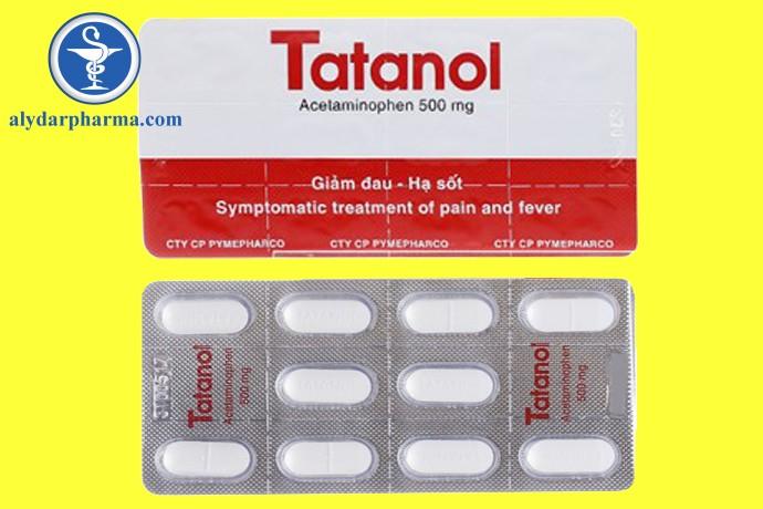 Thuốc Tatanol 500mg là thuốc gì