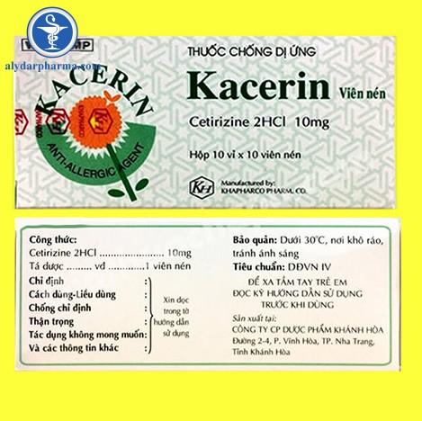 thuốc Kacerin