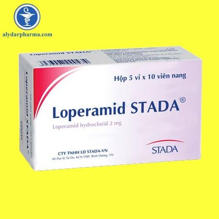 Tác dụng của thuốc loperamid